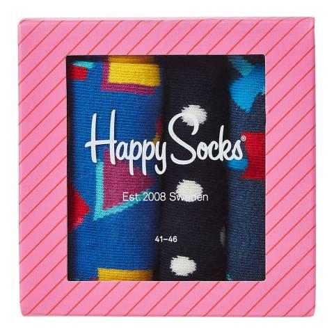 Happy Socks Happy Socks 3-Pack Gift Box