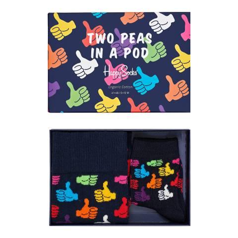 Happy Socks 2 Peas In A Pod Gift Box