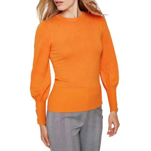 Damsel In A Dress Orange Peyton Knit Jumper