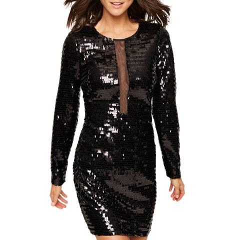 Damsel In A Dress Black Nelle Sequin Dress