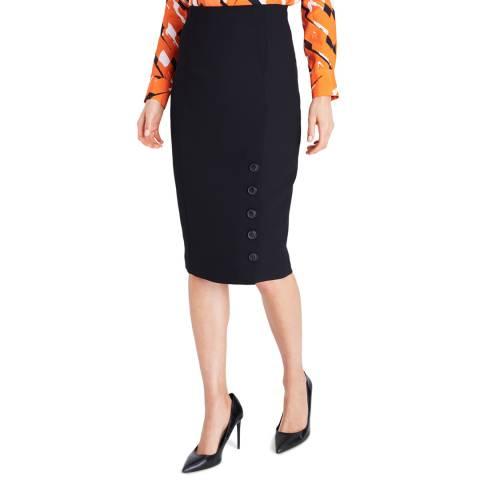 Damsel In A Dress Black Lydia City Skirt
