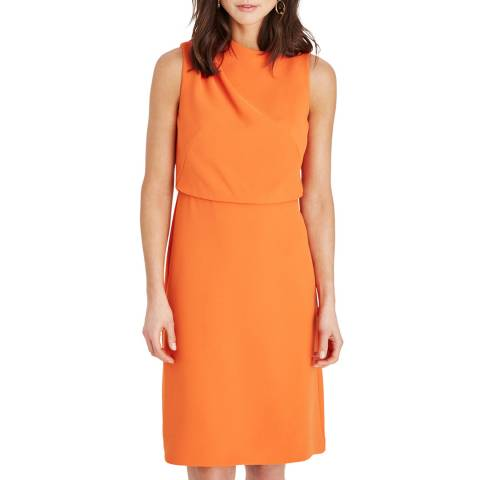 Damsel In A Dress Orange Jovie Shift Dress