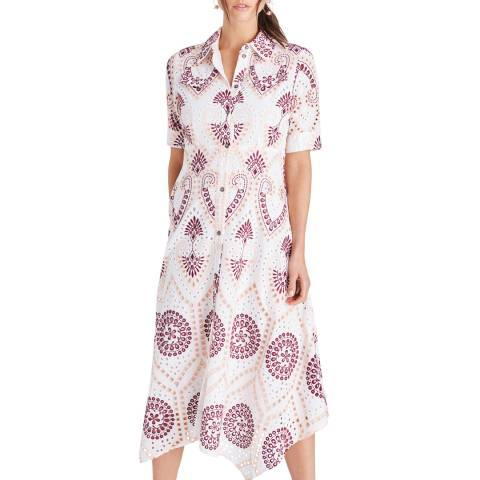 Damsel In A Dress Multi Kaylor Shirt Dress