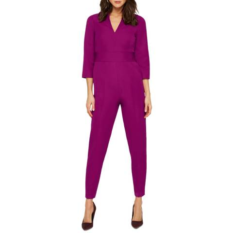Damsel In A Dress Purple Dayna Jumpsuit