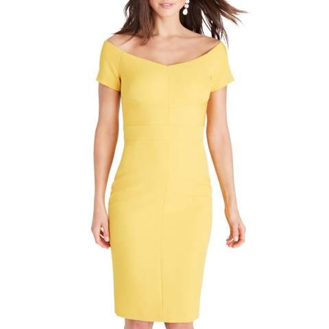Damsel In A Dress Yellow Angalina Dress