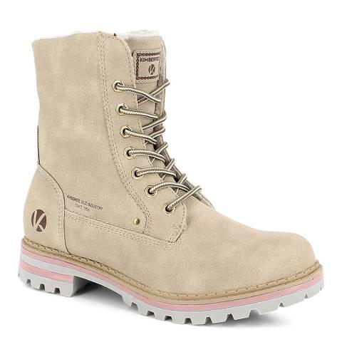 Kimberfeel Beige Laina Winter Boots