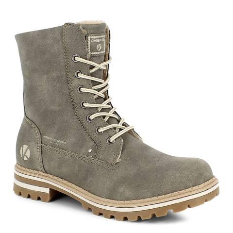 Kimberfeel Taupe Grey Laina Winter Boots