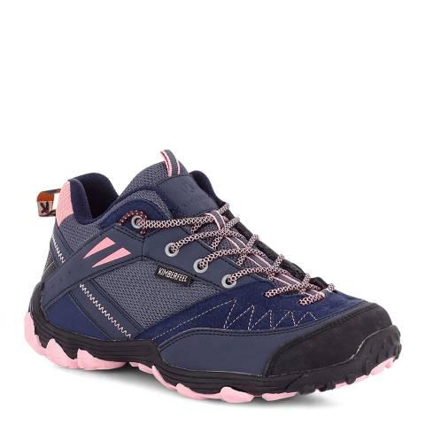 Kimberfeel Navy/Rose Lunana Hiking Boots