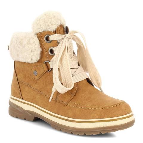 Kimberfeel Caramel Gloria Ankle Boots