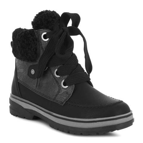Kimberfeel Black Gloria Ankle Boots