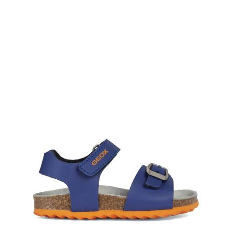 Geox Younger Boy's Blue Chalki Sandals