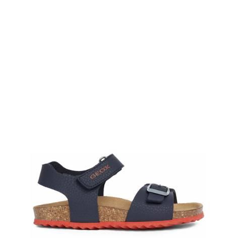 Geox Older Boy's Navy Ghita Sandals