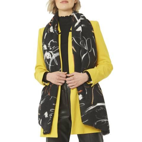 JayLey Collection Black Cashmere Blend Scarf