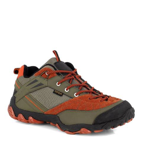 Kimberfeel Orange/Brown Lozere Trainers