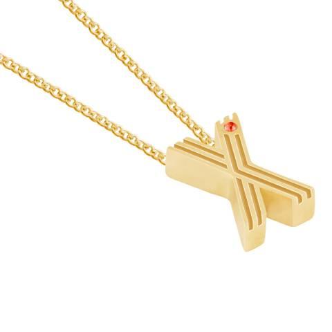 MAJE Gold Z Initial Necklace