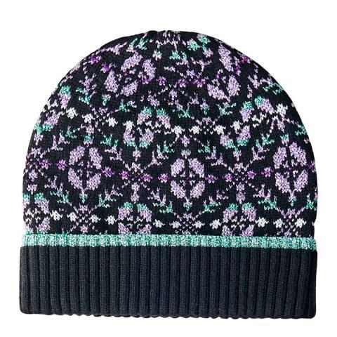 MAJE Black Wool Blend Hat