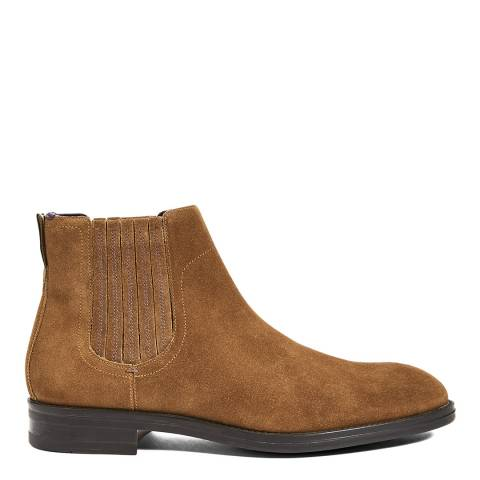 Ted Baker Tan Sestry Suede Chelsea Boots
