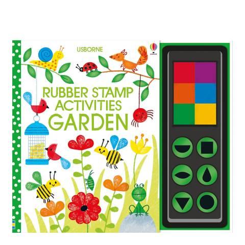 Usborne Books Garden Rubber Stamp Activities