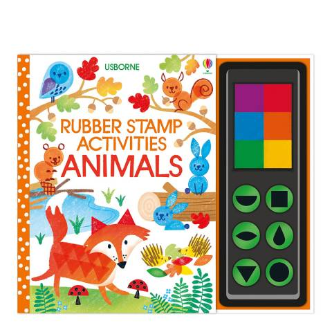 Usborne Books Rubber Stamp Activities Animals
