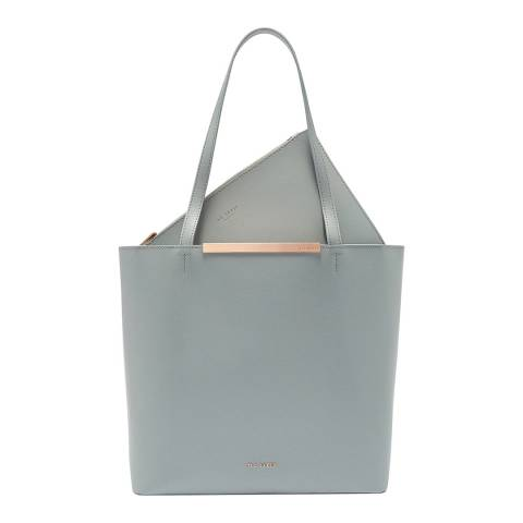 Ted Baker Grey Melisa Large Leather Shopper