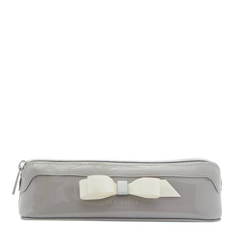 Ted Baker Grey Casella Bow Case