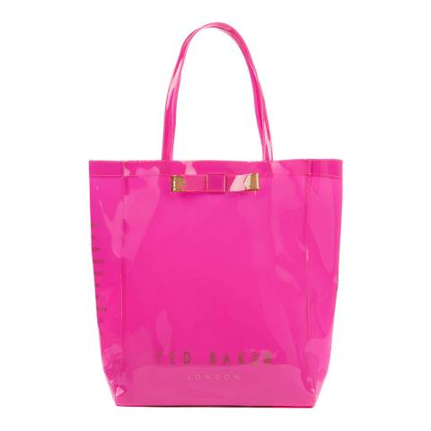 Ted Baker Bright Pink Emacon Bow Icon Bag