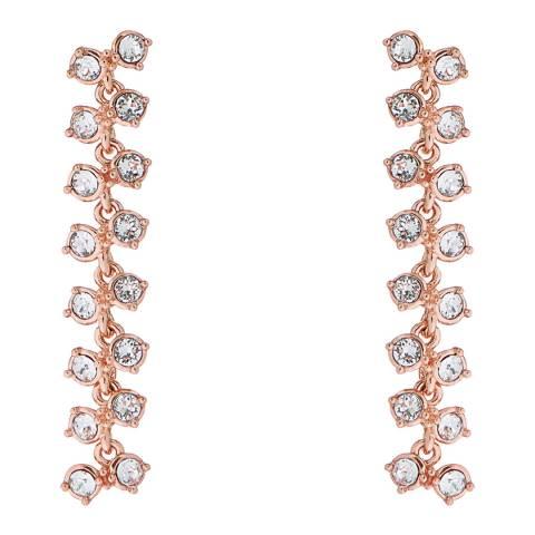 Ted Baker Rose Gold Elecia Princess Sparkle Earrings