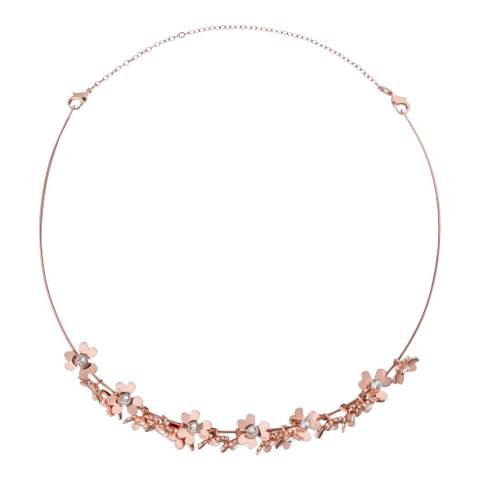 Ted Baker Rose Gold Hadriaa Blosson Necklace