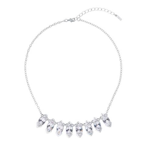 Ted Baker Silver Ilsaa Crystal Necklace