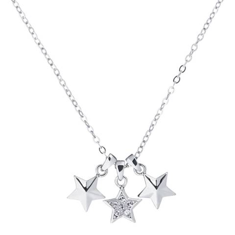 Ted Baker Silver Shami Star Trio Necklace