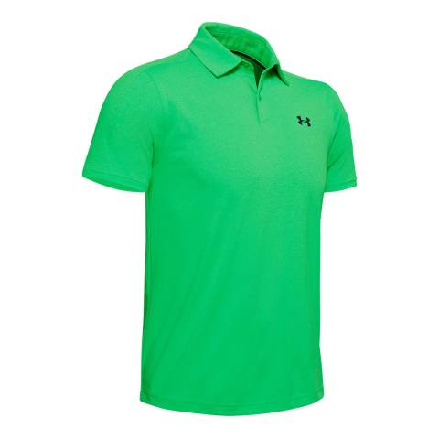 Under Armour Men's Green Vanish Polo Shirt