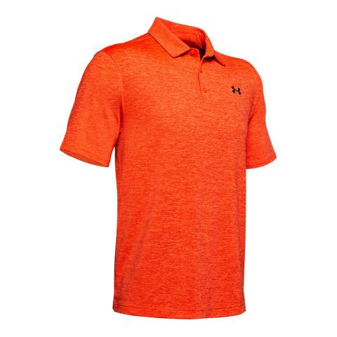 Under Armour Orange Playoff Polo Shirt
