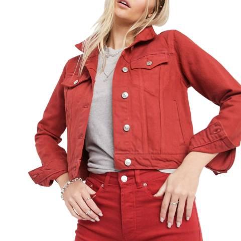 Bolongaro Trevor Red Sierra Denim Jacket