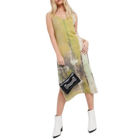 Bolongaro Trevor Yellow Carlotta Slip Dress