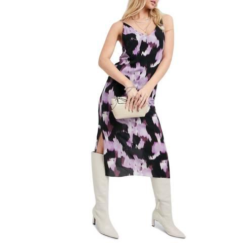 Bolongaro Trevor Multi Print Billie Slip Dress