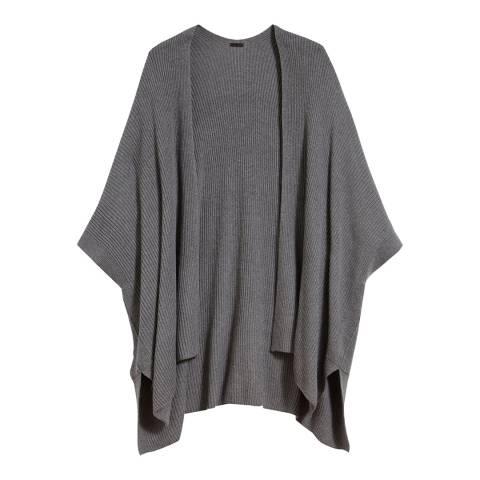 AllSaints Grey Marl Ruana Cardigan
