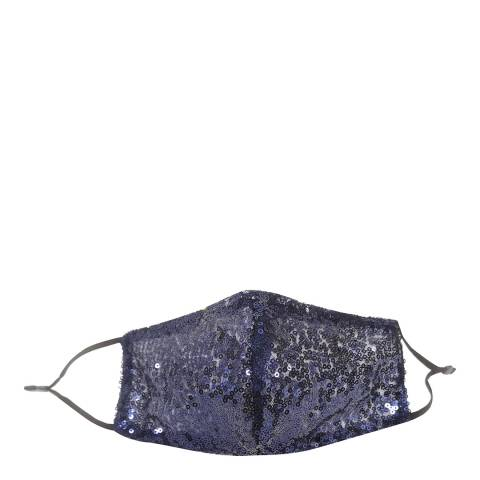 JayLey Collection Navy Sequin Face Mask