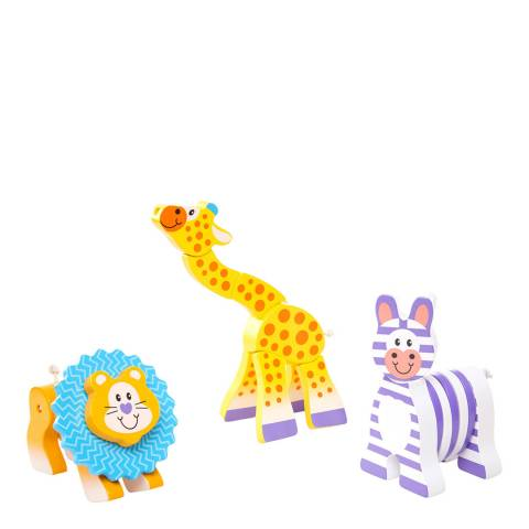 Melissa and Doug Safari Grasping Toys