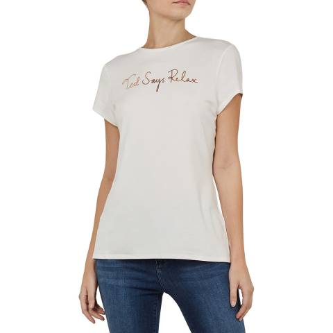 Ted Baker Black Yanita Relax Fitted Tee