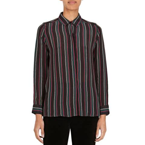 BY IRIS Black Skyla Stripe Shirt