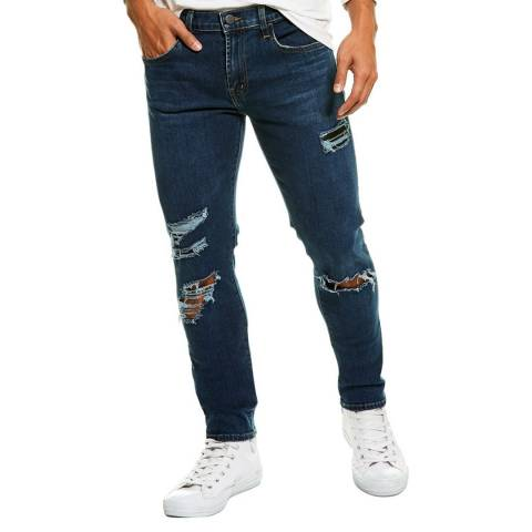 J Brand Navy Mick Skinny Stretch Jeans