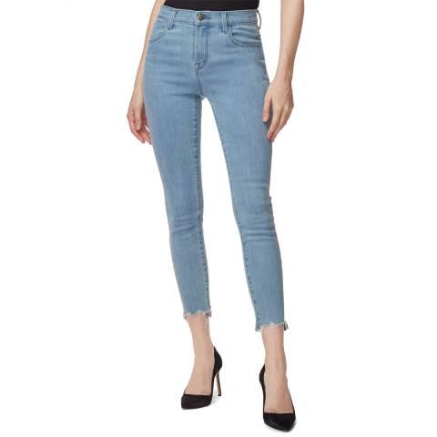 J Brand Light Blue Alana Crop Skinny Stretch Jeans