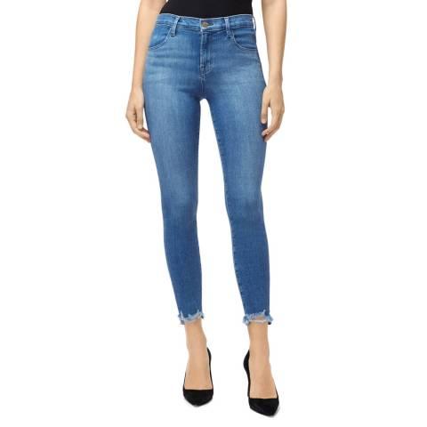 J Brand Blue Ruby Crop Cigarette Stretch Jeans