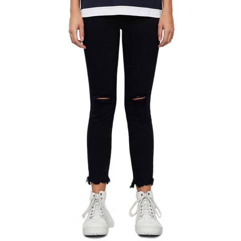 J Brand Indigo Alana Crop Skinny Stretch Jeans