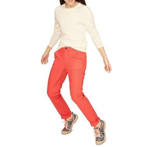 AIGLE Orange Chinos