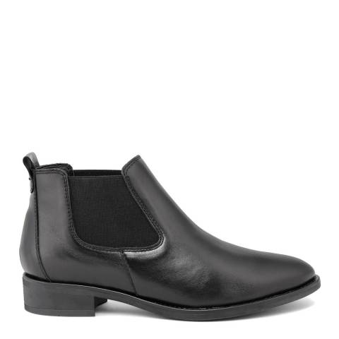 LAB78 Black Leather Chelsea Boots