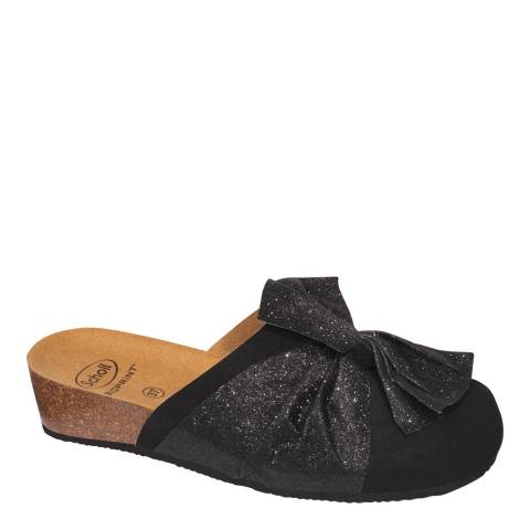 Scholl Black Lucy Slippers