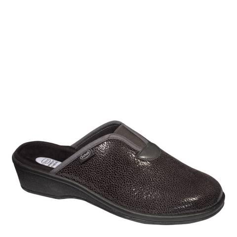 Scholl Dark Grey Elsa Slippers