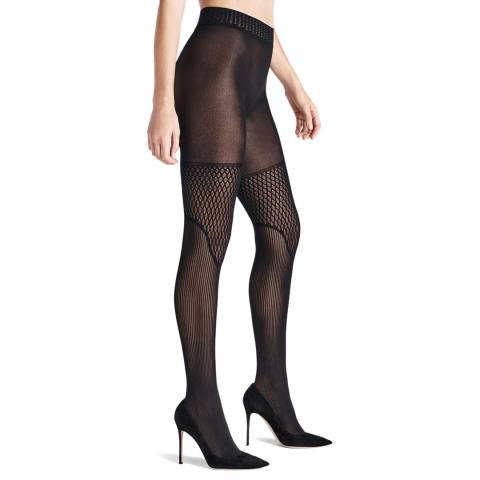 Wolford Black Electric Affair Tights
