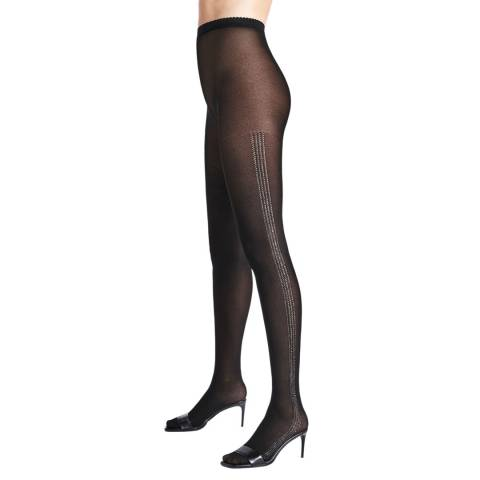 Wolford Black/Silver Dust Tights